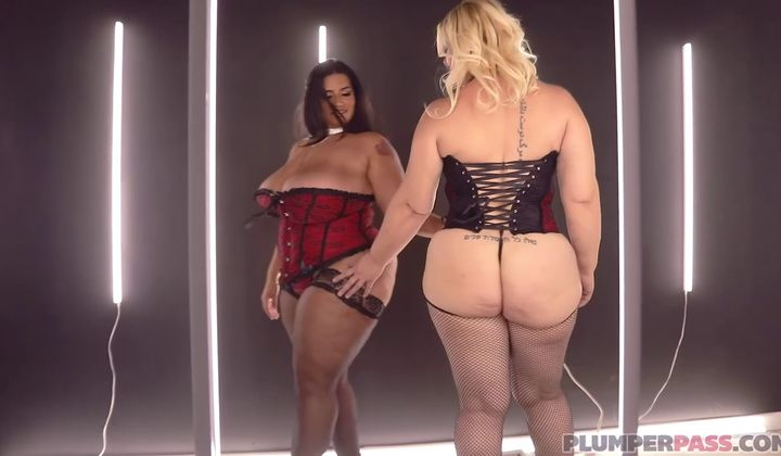 Sofia Rose And Selah Rain Bbw Lesbo 3 Way